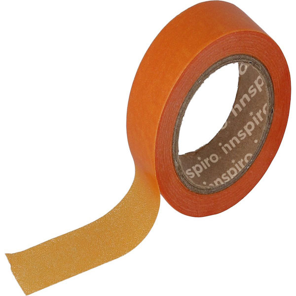masking tape color naranja