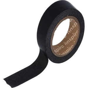 masking tape color negro