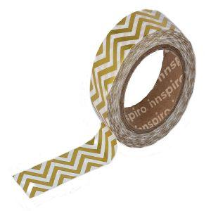 masking tape foil zig zag