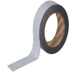 masking-tape-purpurina-plateado