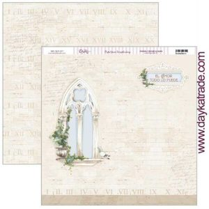 papel ventana iglesia