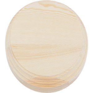 peana madera circular pino