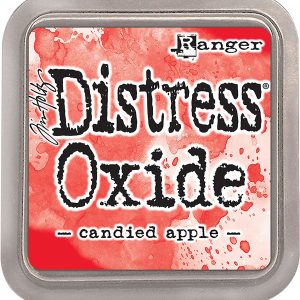 Distress Oxide Candied Apple Ranger