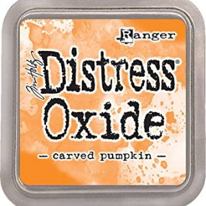 Distress Oxide Carved Pumpkin Ranger