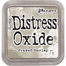Distress Oxide Frayed Burlap Ranger