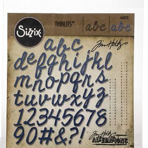 troqueles secuencia de cortes 1,91 cm alto Thinlits Sizzix