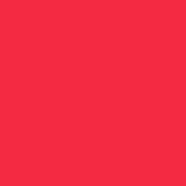 The Colourines rojo carmesí