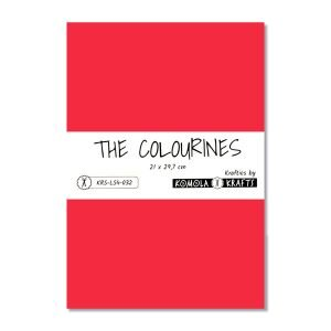 The Colourines rojo carmesí
