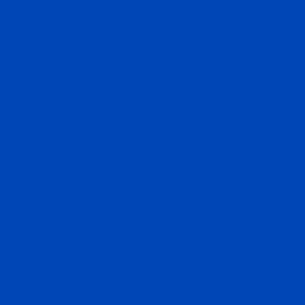 The Colourines azul intenso