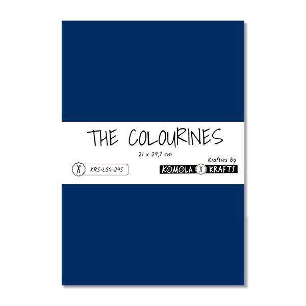 The Colourines azul medio