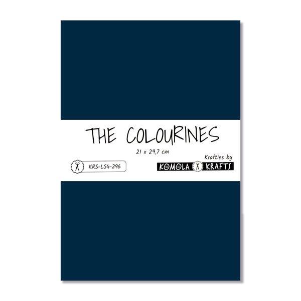The Colourines azul oscuro