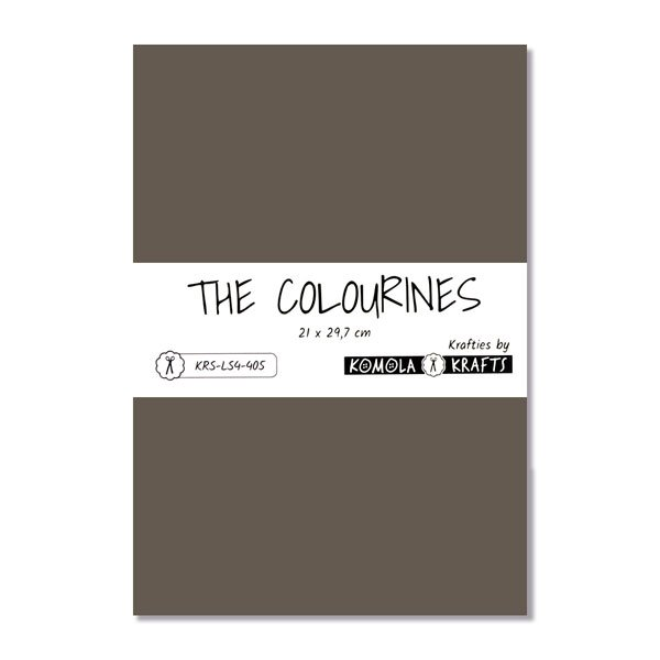 The Colourines gris antracita