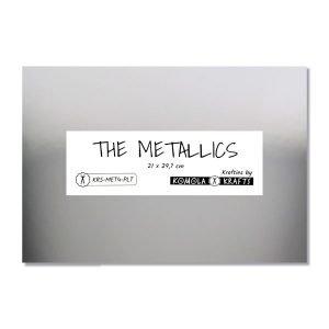 The Metallics plata