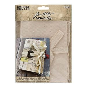 Fabric Journal cuadernos de Tim Holtz