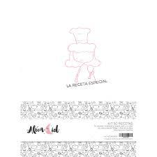 Kit 50 Recetas de Alúa Cid
