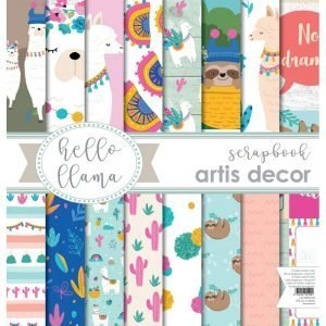 Kit Hello LLama Artis Decor