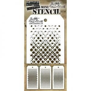 Mini Stencil Layering set 39 - Tim Holtz