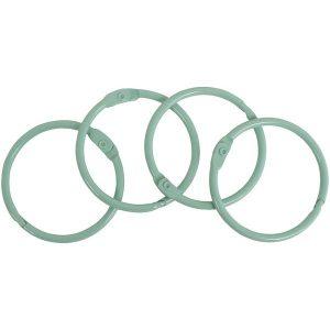set anillas verde