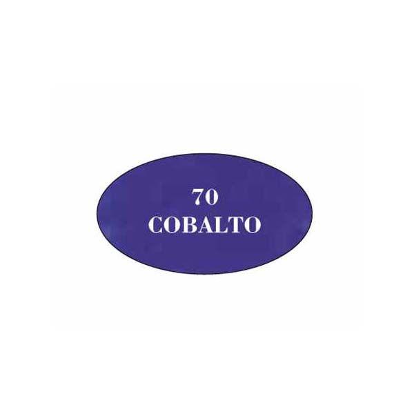Pintura acrilica mate Cobalto 70
