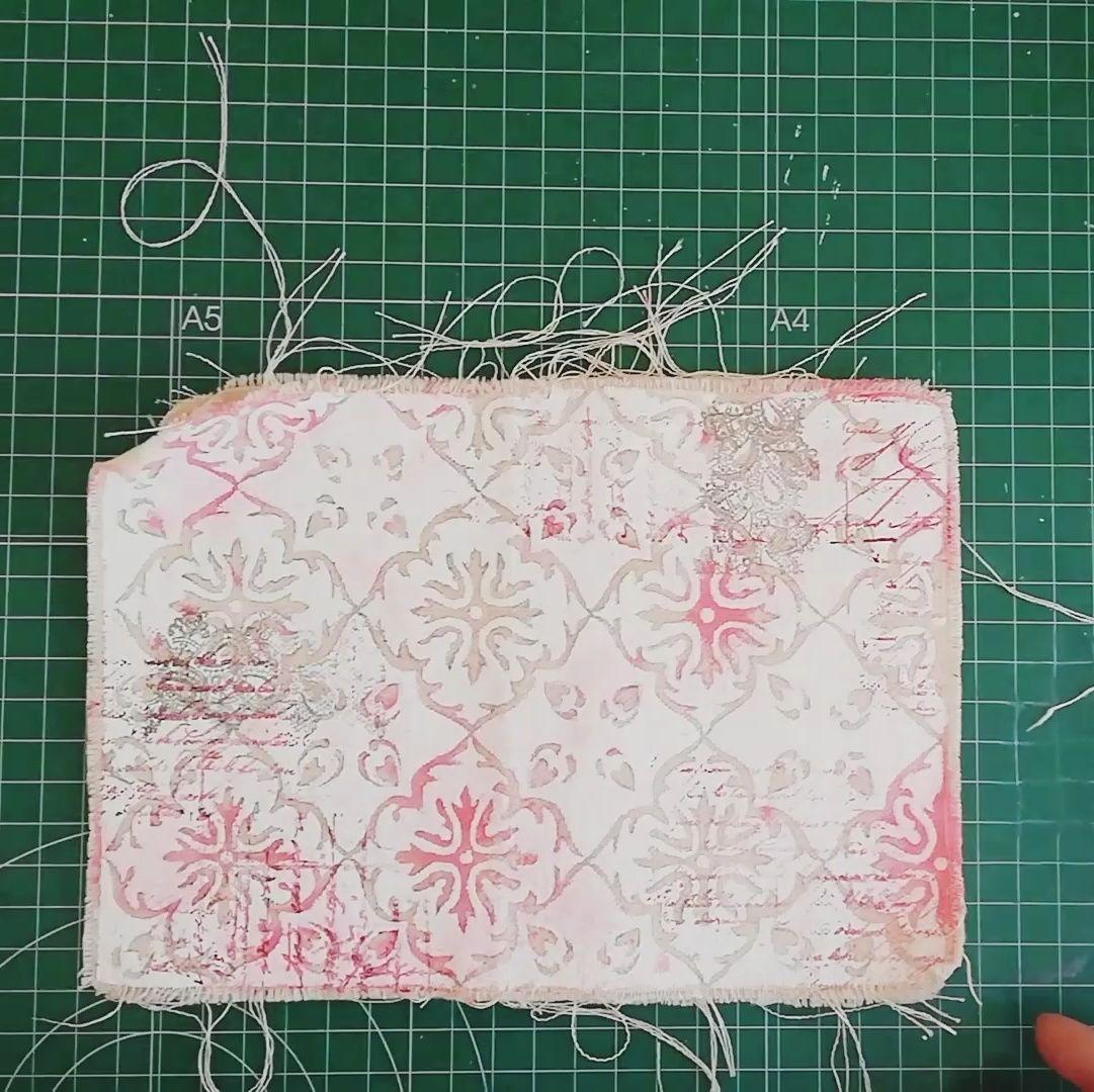 Estampar nuestro fabric journal
