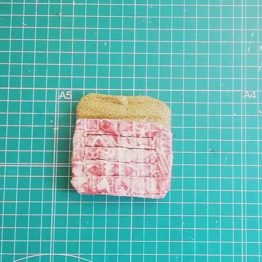 Medir materiales de tu fabric journal