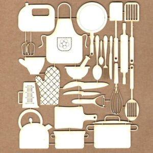 Maderitas Set de Cocina