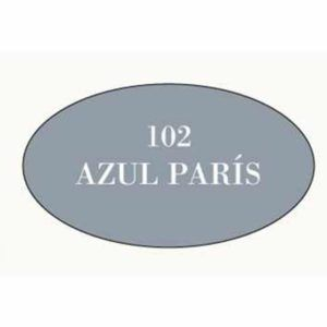 Pintura acrilica mate 102 Azul Paris