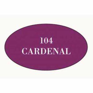 Pintura acrilica mate 104 Cardenal