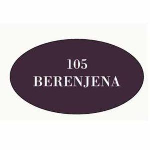 Pintura acrilica mate 105 Berenjena