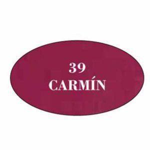 Pintura acrilica mate 39 Carmin