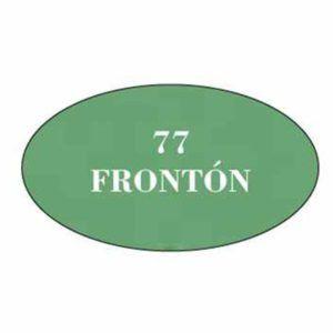 Pintura acrilica mate 77 Fronton