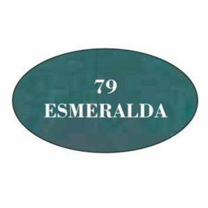 Pintura acrilica mate 79 Esmeralda