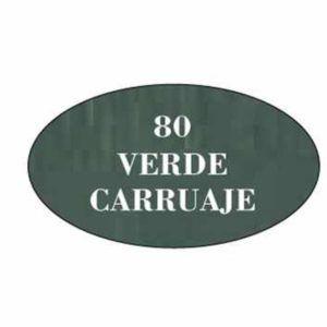 Pintura acrilica mate 80 Verde Carruaje