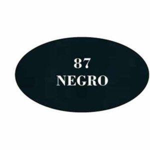 Pintura acrilica mate 87 Negro