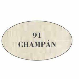 Pintura acrilica mate 91 Champan