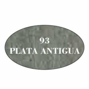 Pintura acrilica mate 93 Plata Antigua