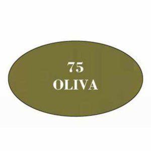 Pintura acrilica mate Oliva 75