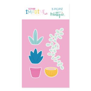 Troquel-Plantas
