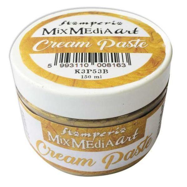 cream paste dorada