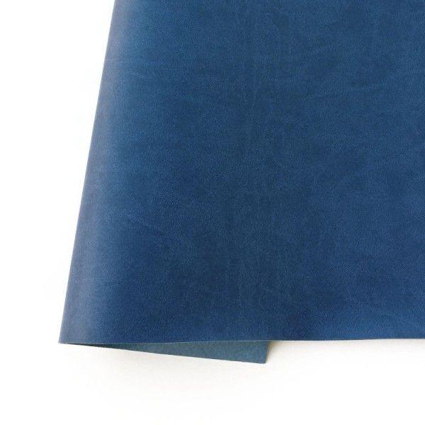 ecopiel mate azul denim