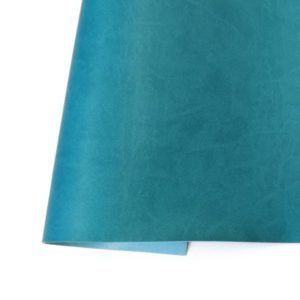 ecopiel mate azul turquesa