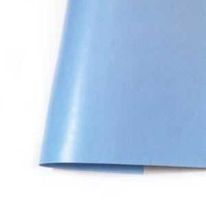 ecopiel satinada azul cielo