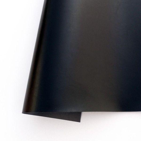 ecopiel satinada color negro