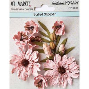flores enchanted petals ballet slipper