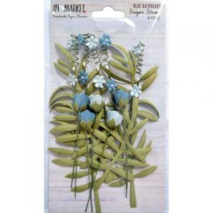 flores sugar stems blue