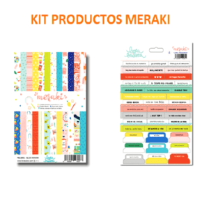 kit productos meraki