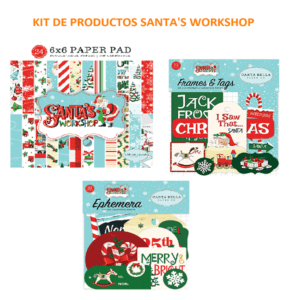 kit productos santas workshop