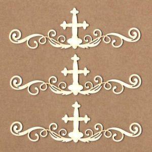 maderitas borde con cruz