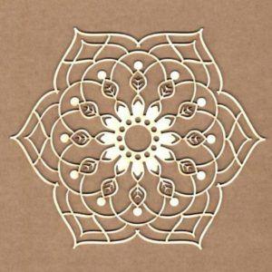 maderita mandala floral