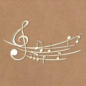 maderita notas musicales
